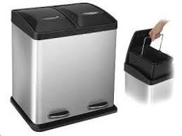 poubelle cuisine tri s駘ectif 2 bacs poubelle de cuisine tri selectif finest poubelle de cuisine tri