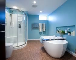 dark tile bathroom floor for small bathroom design with elegant