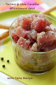 recette de cuisine antillaise guadeloupe tartare thon aux épices miamm huile d olive yumy olive