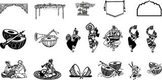 wedding invitation symbols hindu wedding symbols clip for free 101 clip