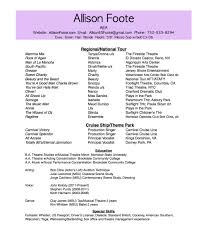 audition resume format improv resume free resume example and writing download resume improv resume audition resume template dance resumes template