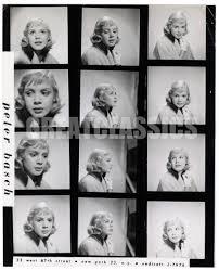 Dodd Darin by Sandra Dee Age 15 Charming 1957 Contact Sheet Photograph Peter