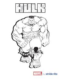 perfect design the hulk coloring pages page super heroes pinterest