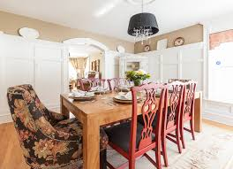 my houzz traditional home with cottage flair victorian dining