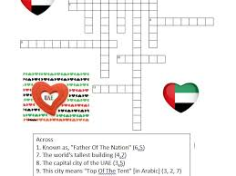 uae social studies consolidation xword by andy macdxb teaching