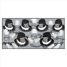 new year party kits hats and tails new years party kit for 50