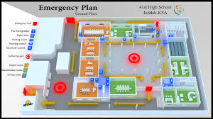 emergency plan on behance