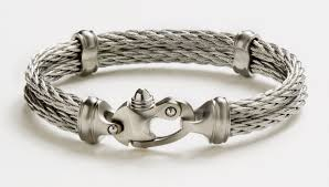 stainless steel bracelet clasps images Your stainless snap shackle cable bracelet mariners clasp jpg