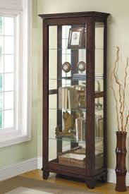 Corner Lighted Curio Cabinet Curio Cabinet Wayfair Corner Curiobinetsbinet Magnificent Photo