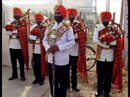 wedding band in delhi bagpiper fouji band pipe band in chandigarh panchkula mohali