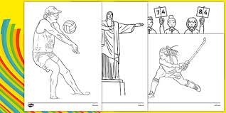 rio olympics 2016 colouring pages rio olympics 2016 olympics