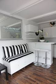 tiny house furnishings make your seating pull double duty as