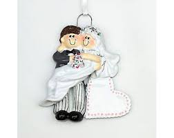 engagenent tree ornament wedding 1st