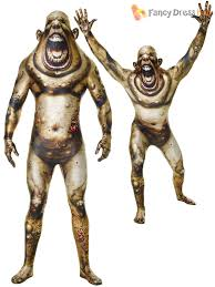 morphsuit halloween city morphsuit monster mens halloween robot zombie fancy dress