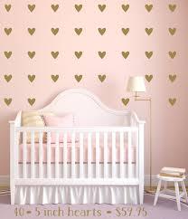 heart wall decals gold heart decals peel u0026 stick wall decals