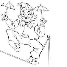 coloriage cirque magicien les beaux dessins de autres à imprimer