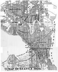 seattle map green lake list of neighborhoods in seattle