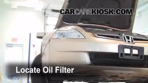 oil u0026 filter change honda accord 2003 2007 2004 honda accord