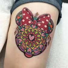 minnie and mickey tattoos tattoo design