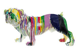 interior illusions plus graffiti bull dog with leg up 10
