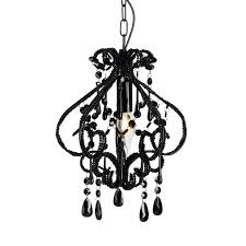 Small Black Chandelier Darling Black Chandelier 1 Light French Provincial U2013 Ivory