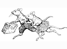 coloring pages mice