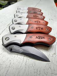 wedding gift knives pocket knife groomsmen gift groomsmen knife personalized knife