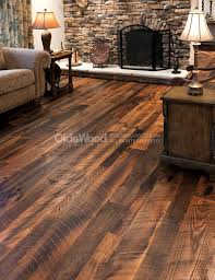 wide plank distressed hardwood flooring with distressed oak