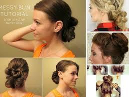 hair buns images 11 diy bun tutorial for mediun to hair