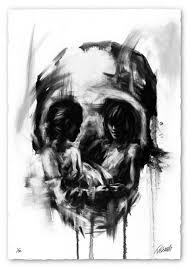 skull illusion art by tom french scene360