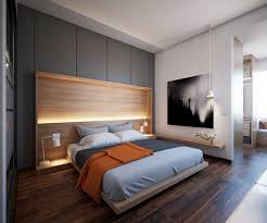 floating headboard ideas stunning bedroom lighting design which makes effect floating of