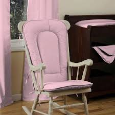 leather rocking chair cushions pink colors glider rocking chair