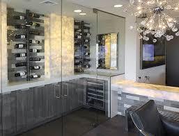 Swislocki - Home wine cellar design ideas