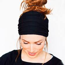 cloth headbands cosmos wide 5 inches soft stretchy fashion