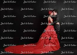 wedding backdrop singapore custom backdrop for your important day with photos messages