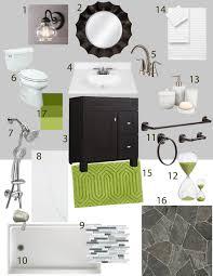 Mint Green Bathroom Accessories by Portfolio Uniquely You Interiors
