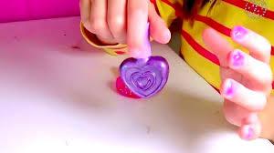 how to polish small girls nails kids water based sparkling nail