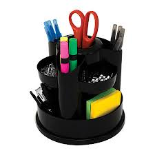 Desk Organizer Innovative Storage Designs Desktop Organizer 10 Compartments Black