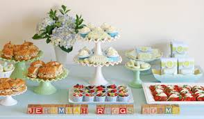 inexpensive brunch ideas for baby shower