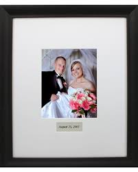 wedding autograph frame sharia s the 39s theme colors were royal blue and