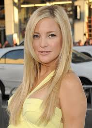 hairstyles for long hair blonde cute hairstyle long straight blonde with dark roots kate hudson s