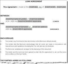 doc 413585 loan contract sample u2013 5 loan agreement templates to