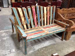 Vintage Adirondack Chairs Rustic And Antique Wood Benches San Diego Reclaimed Wood Bench
