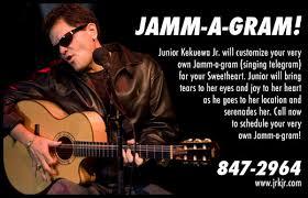 singing birthday grams junior kekuewa jr jamm a grams singing telegram