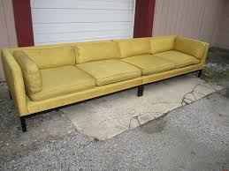 fabulous 2 piece edward wormley dunbar long low mid century sofa
