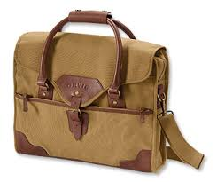 rugged leather and canvas briefcase 1856 briefcase orvis