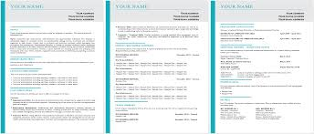 Best Resume Templates For Word by The Best Resume Templates Online Professional Resume Templates
