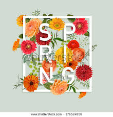 flowers for floral graphic design colorful flowers stock vector