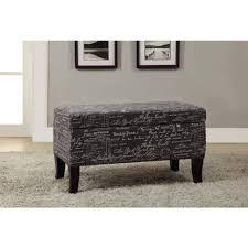 Grey Tufted Ottoman Sofa Linen Ottoman Cowhide Ottoman Upholstered Ottoman Small