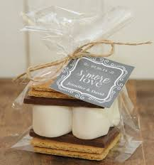 24 s mores wedding favor kits any tag design